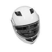 Bluetooth helmet with one-touch sun shield
