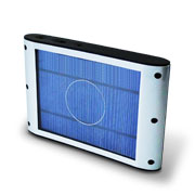 Solar laptop battery charger