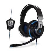 Noise-canceling gaming headset