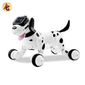 Dog-shaped robot controls appliances