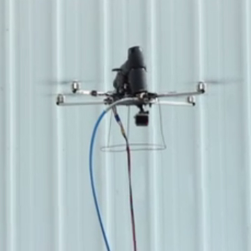 Drones to replace construction workers?