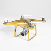 DJI's 24K gold-plated drone lands in the UK