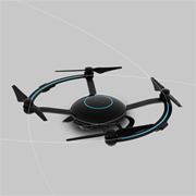 Aerial drone boasts auto-follow features