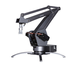 Desktop robotic arm can draw, paint