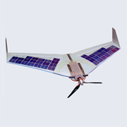 Lakes help fixed-wing drone take off