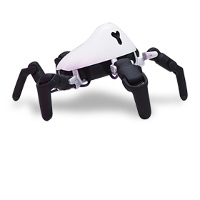 Spiderlike robot works on any terrain