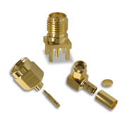 SMA connector supports up to 18GHz