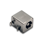 DC power jack has 3 to 30N insertion force