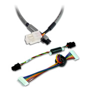 Wire harnesses for communication equipment