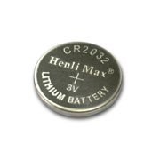 3V lithium button-cell battery offers 220mAh