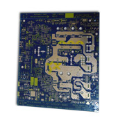 PCB with immersion gold surface finish