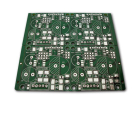Double-sided PCB with lead-free HAL