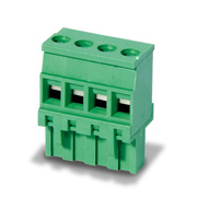 Terminal block accepts 12 to 28AWG wires
