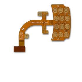 Flexible PCB features four layers