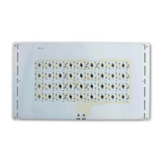 Double-sided aluminum PCB for LED products