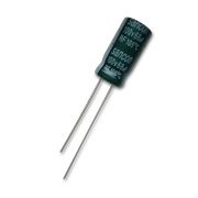 Electrolytic capacitor for LED drivers