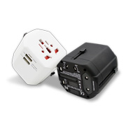 Travel adapter supports rapid charging
