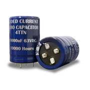 Patented guided current audio capacitor