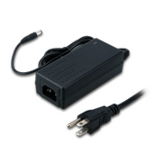 Level VI AC/DC adapter with IP20 rating