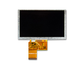 5in TFT-LCD module with 800x480 pixels