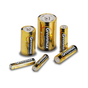NiMH batteries with 3-year shelf life