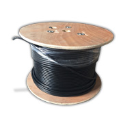 Cat 7a cable with solid bare copper