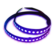 Flexible LED strip with 43.2W/m rated power