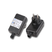 IP44 AC/DC adapter with 12V, 2.5A output