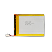 3.7V Li-polymer battery with 2,800mAh