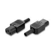 Cord connector with 250VAC, 10A rating