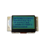 128x64-dot graphic LCD module in COG package