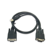 15-pin VGA cable assembly with USB 2.0
