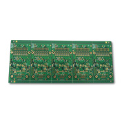 Multilayer PCB has FR-4 base, immersion gold