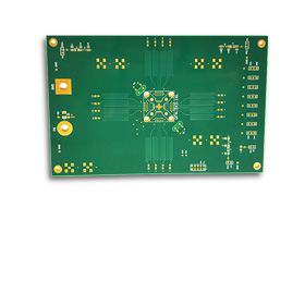 PCB has up to 18 layers, high Tg FR-4 base
