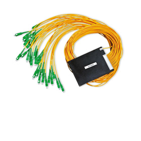 PLC splitter has 1,260 to 1,650nm wavelength