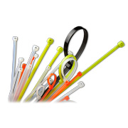 Nylon 66 cable tie in custom sizes, colors