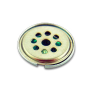 Stamped electronic audio component part