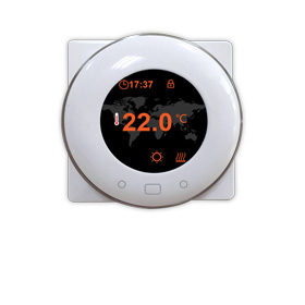 Smart thermostat with child lock function