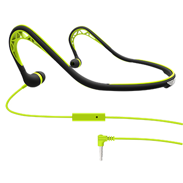 Water-resistant sports earphones