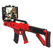 First assault rifle-shaped FPS game controller for smartphones, tablets