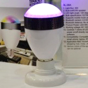 Color-changing Bluetooth smart LED bulb