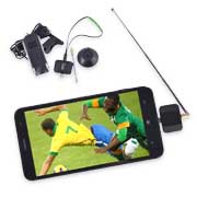 DVB-T2 TV tuner turns smartphone, tablet into mobile TV