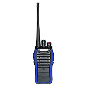 16-channel handheld two-way radio has VOX function