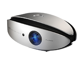 Home theater projector yields 4,000 lumens