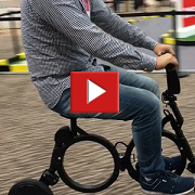 Foldable electric bike designed for city life [VIDEO]