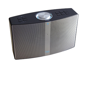 Wireless speaker supports Alexa, AirPlay