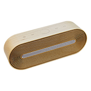 Bluetooth speaker made of beech wood