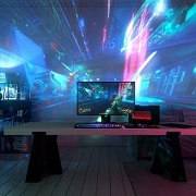 Razer uses projectors for more immersive gaming