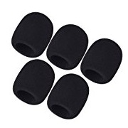 Mudder 5 Pack Foam Mic Cover Handheld Microphone Windscreen