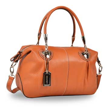 Women's genuine leather handbag uses top-grain cowhide